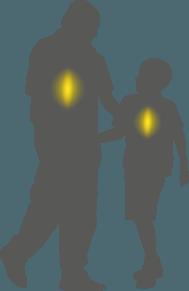 ילד ואבא